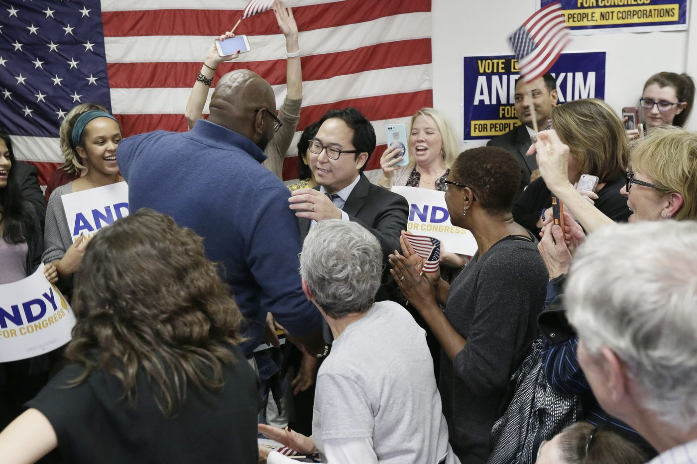 Andy Kim leads Rep. Tom MacArthur by 4,000 votes as counting will continue through the weekend