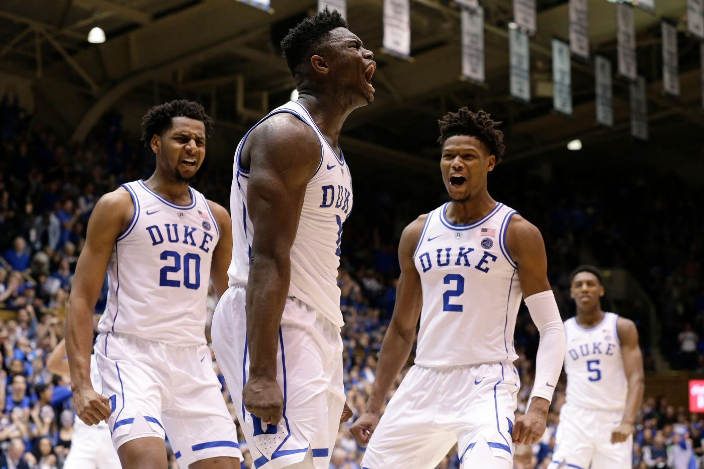 Zion Williamson said he was 'in awe' of former Duke teammate Cam Reddish