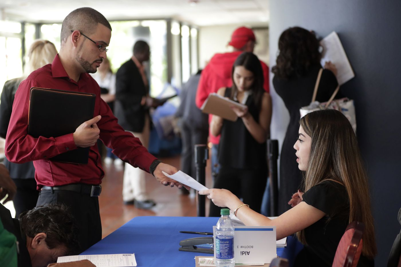 Hiring surged in December, employers added 312000 jobs