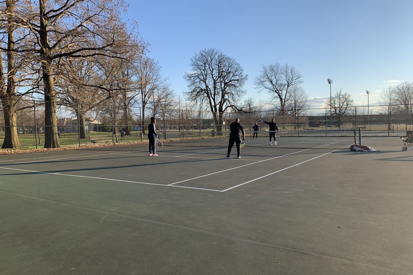 Tennis is a socially distant game by design, so why doesn't the city reopen its tennis courts?