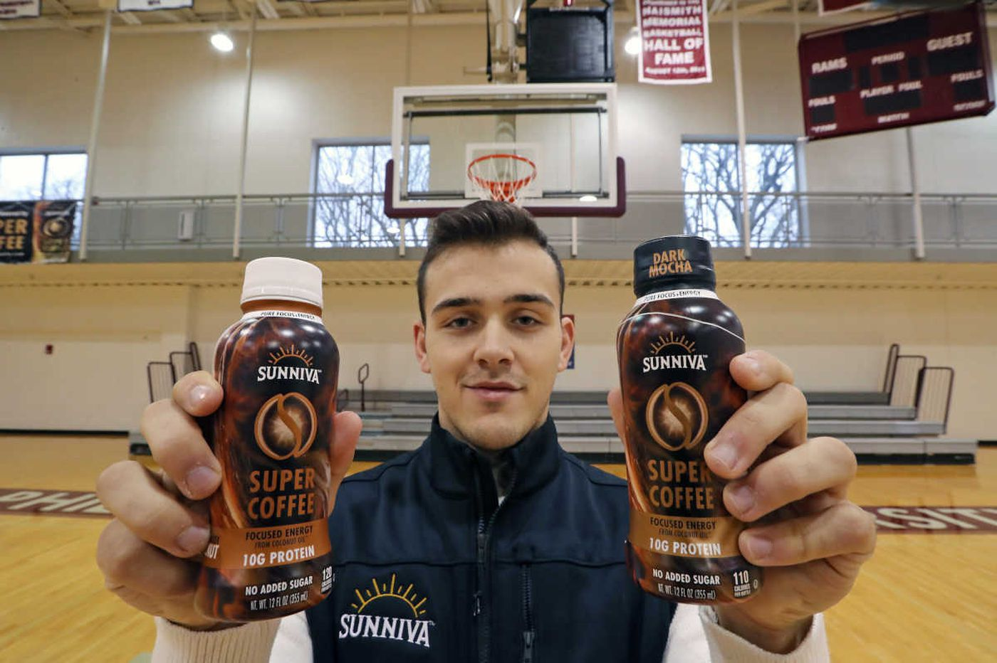At Phila. U, a basketball standout is also an entrepreneurial hit