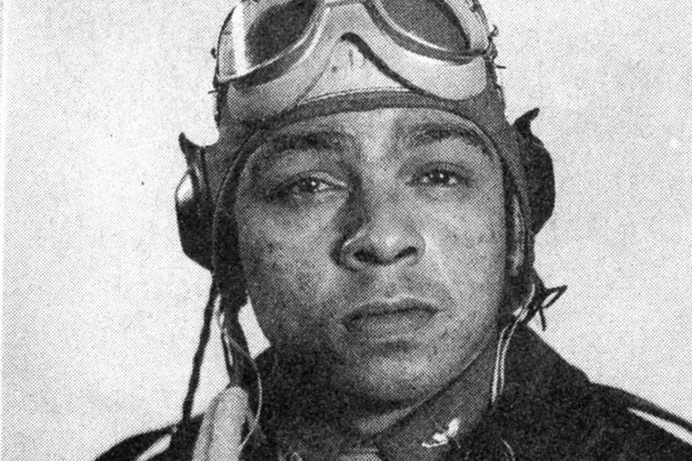 Lt. Walter P. Manning, of West Philadelphia, was a Tuskegee Airman who was lynched when his plane was shot down in Austria in 1945.  Nazi propaganda had encouraged the lynching of American pilots,