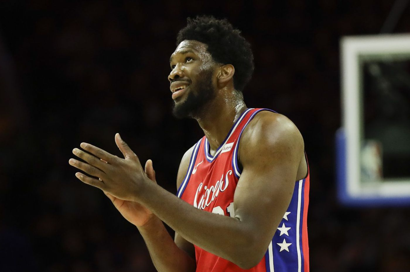 Sixers' Joel Embiid selected Eastern Conference's player of week