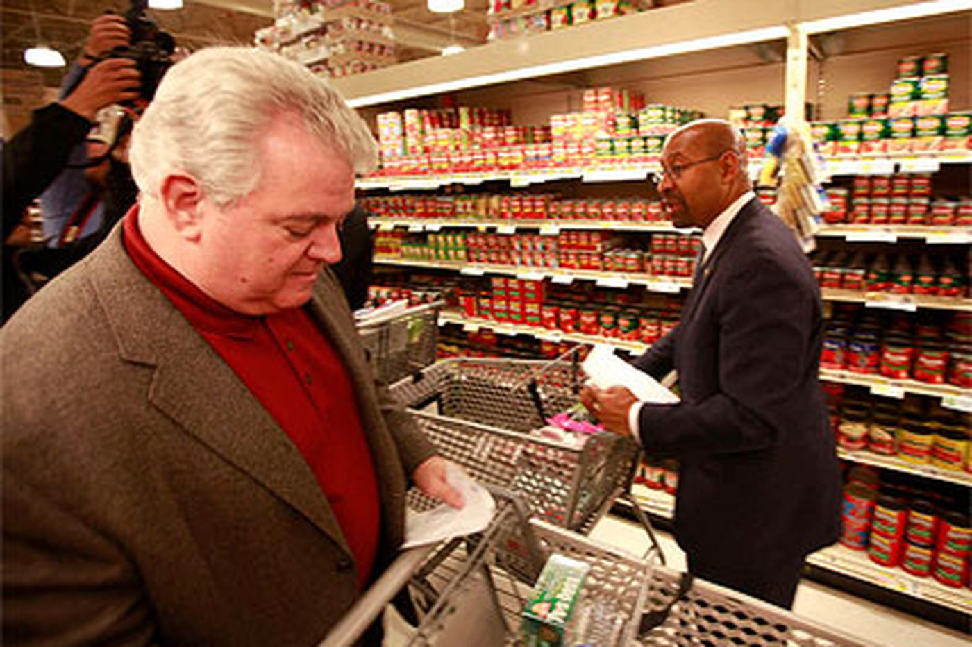 Stu Bykofsky: Bob Brady sees that hunger is no game