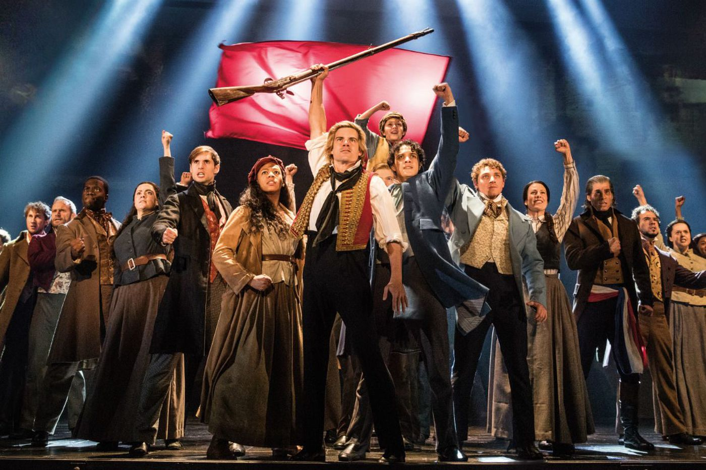 'Les Mis' is back in Philly, and the composer himself gave us some thoughts on why it's aged so well