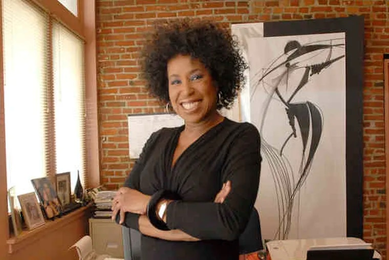"""Entrepreneur Cheryl Ann Wadlington of Evoluer Image Consultants in Old City. """"I would love to be able to expand,"""" she said.""""In order to stay in business, you have to develop. Because of the health-care situation right now, we're unable to do that."""""""
