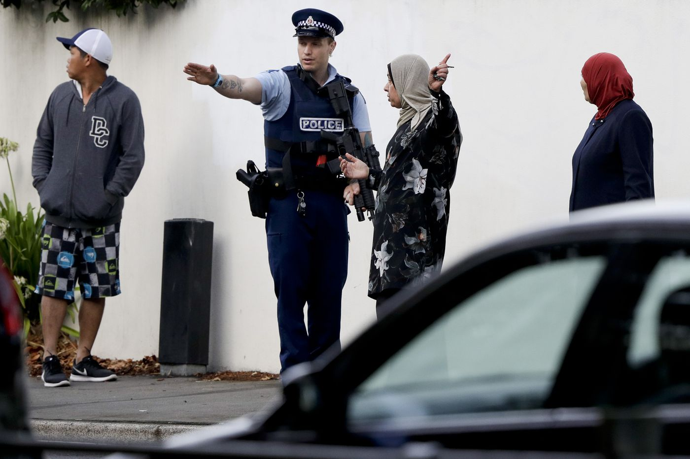 New Zealand reeling after terrorist attacks on mosques leave 49 dead