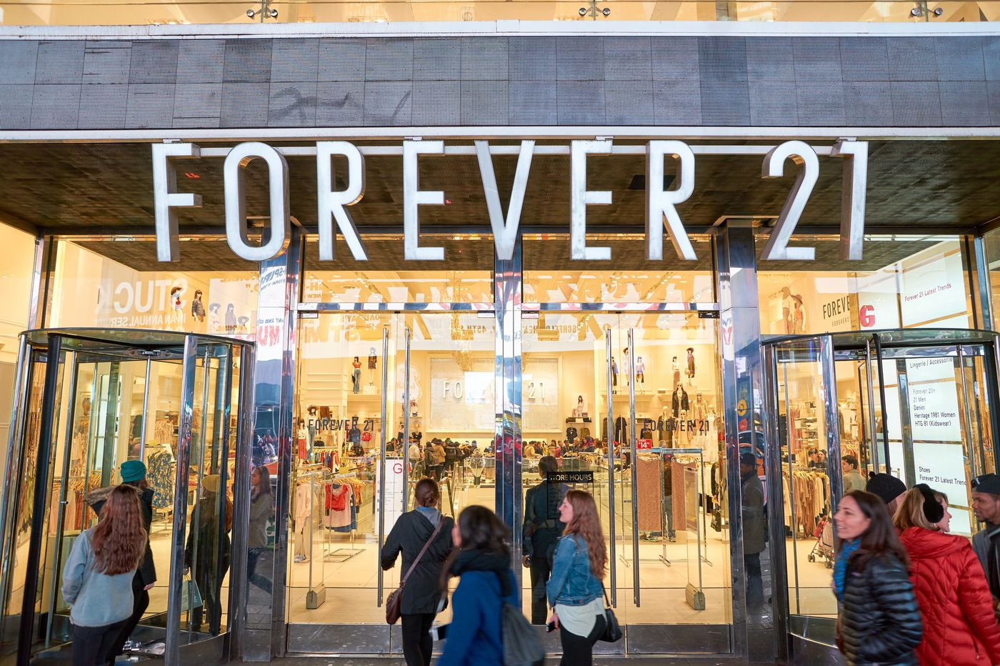 Forever 21 files for bankruptcy, will close 350 stores worldwide amid restructuring
