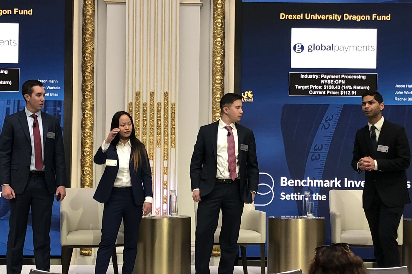 The student-run Drexel Dragon Fund presents best investment ideas at NYSE