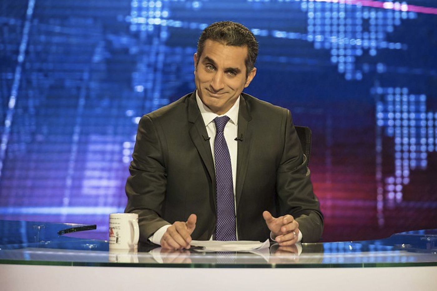 Bassem Youssef first came to Philly as a surgeon. He returns as the 'Egyptian Jon Stewart'