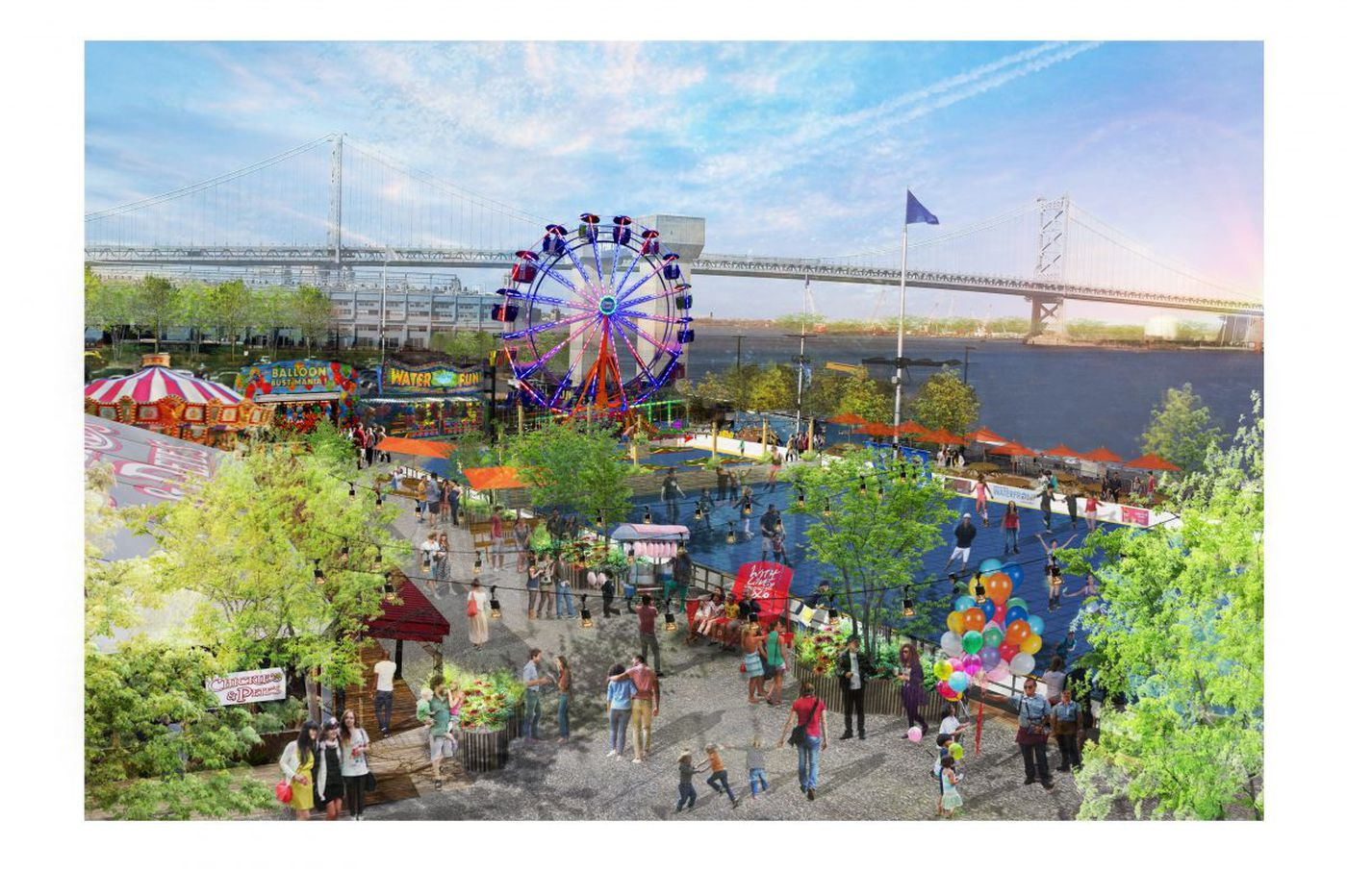 Thrill rides coming soon to Penn's Landing