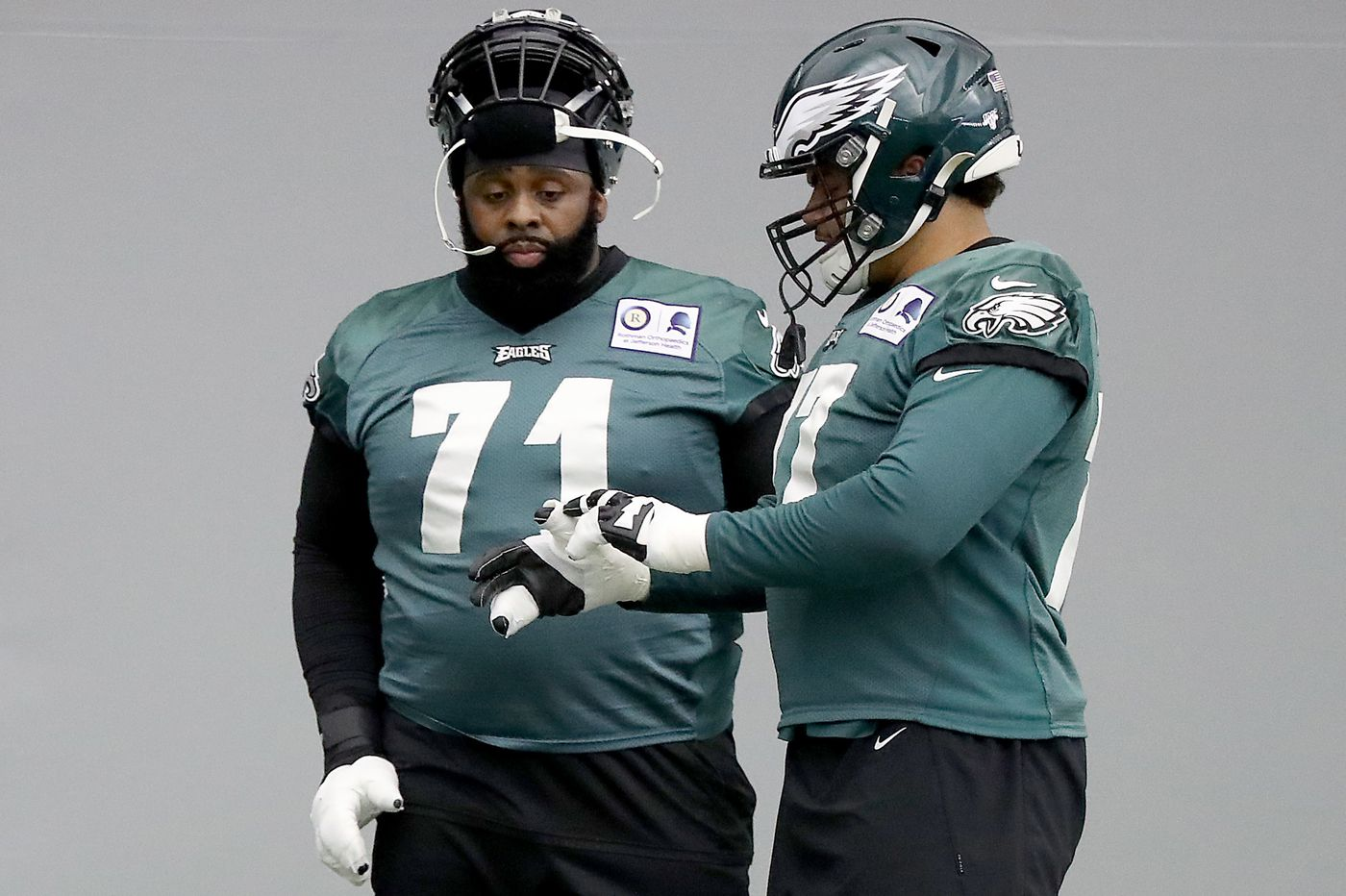 His Eagles teammates say this about Jason Peters: Don't ever count him out   Jeff McLane