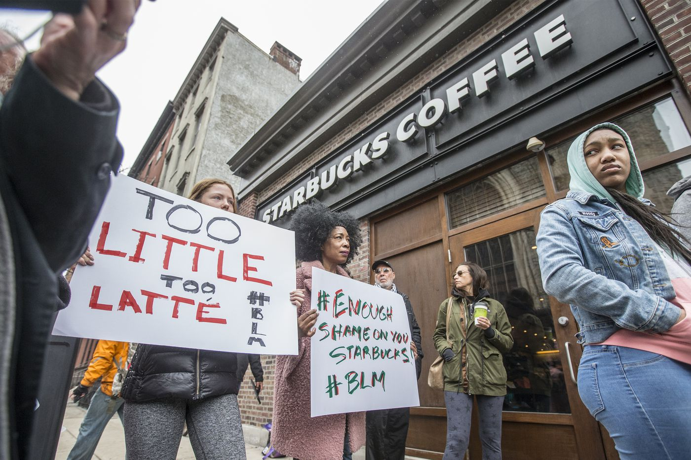 Review of Starbucks arrests shows racial bias by Philly cops, commission finds