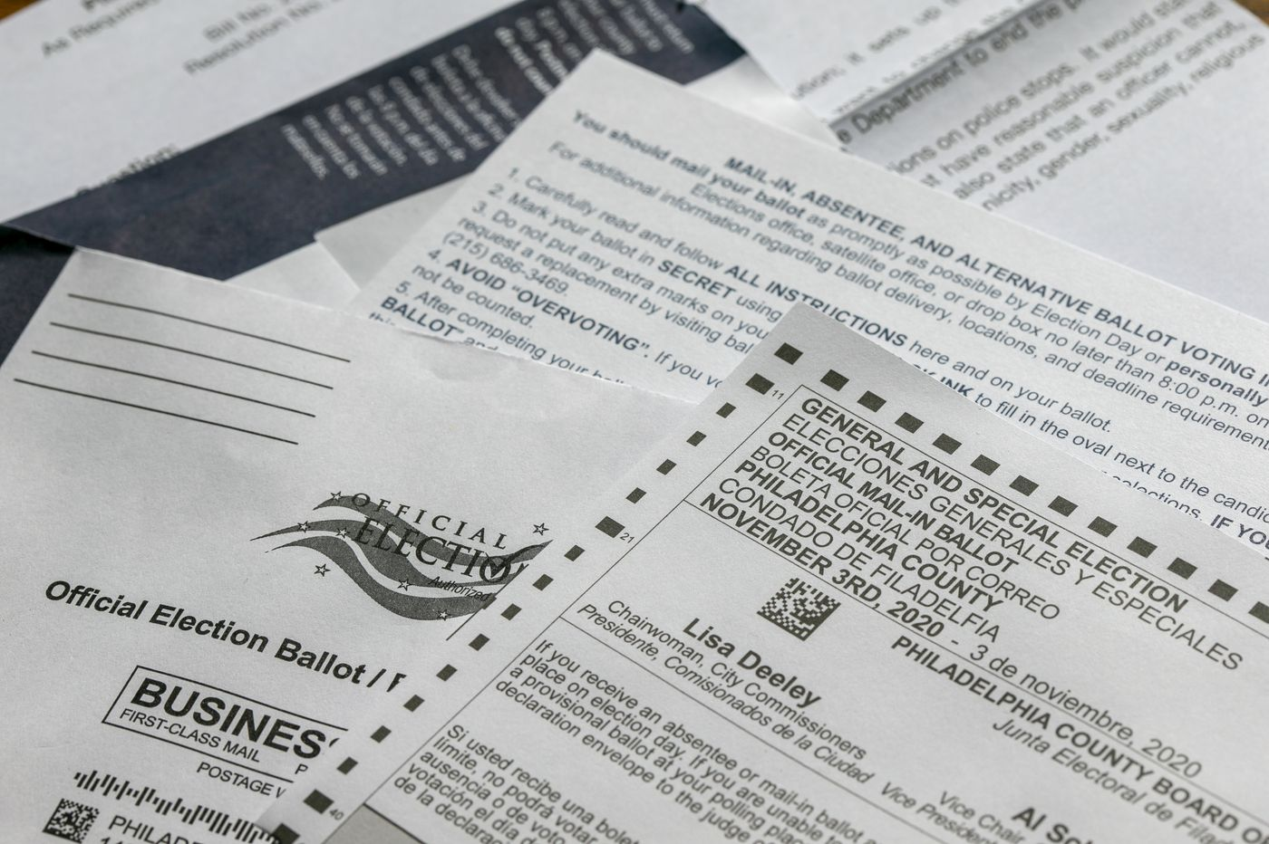 Pennsylvanias 2-envelope mail-in ballot rule prompts