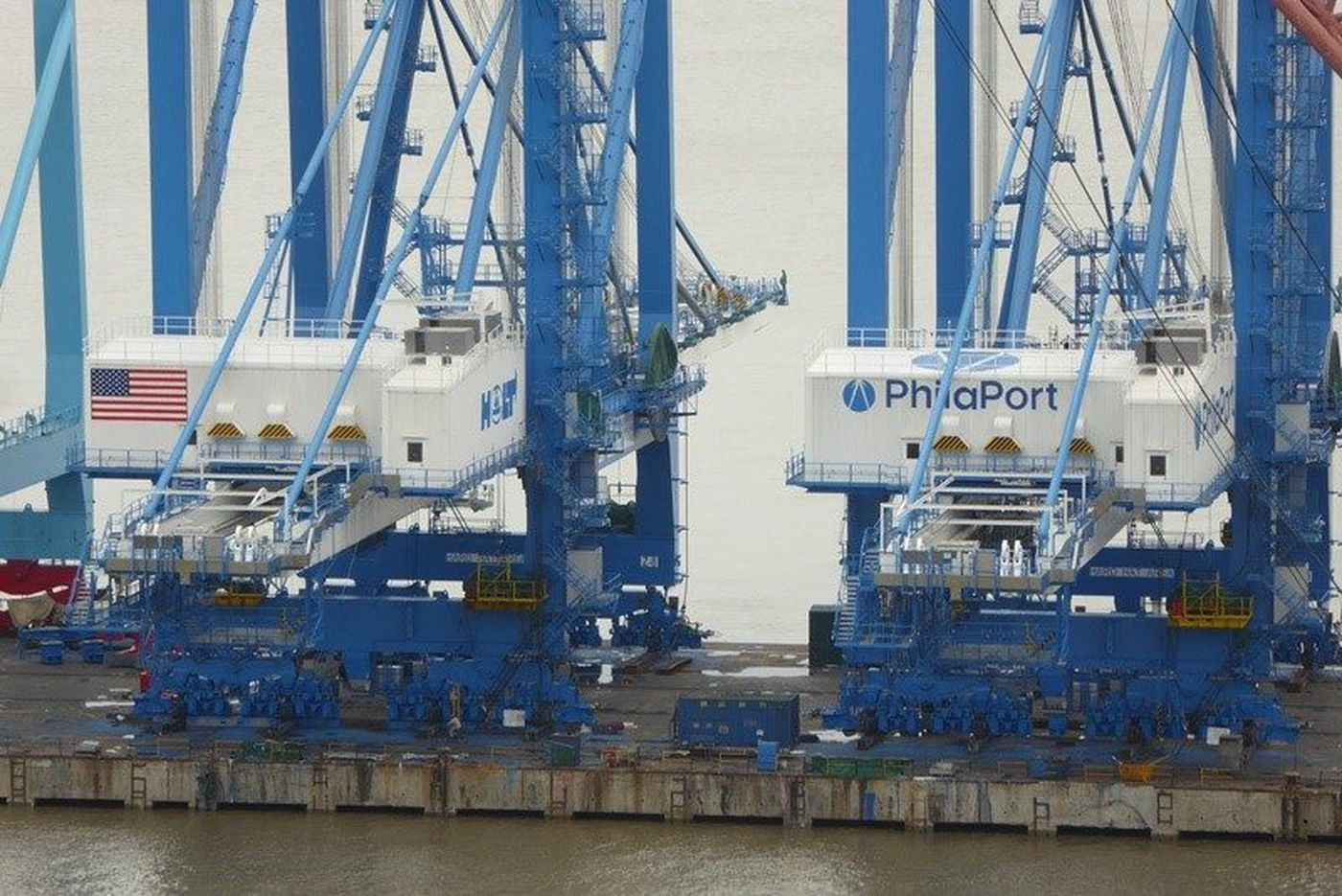 Philly's port prepares for further growth: Bigger ships, expanded cargoes, new cranes, more jobs