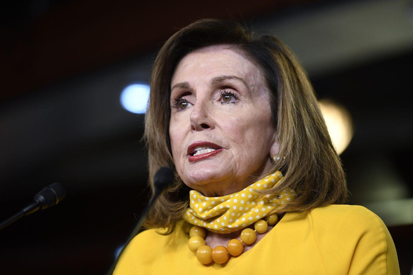 Nancy Pelosi requiring coronavirus masks for lawmakers in House hearings