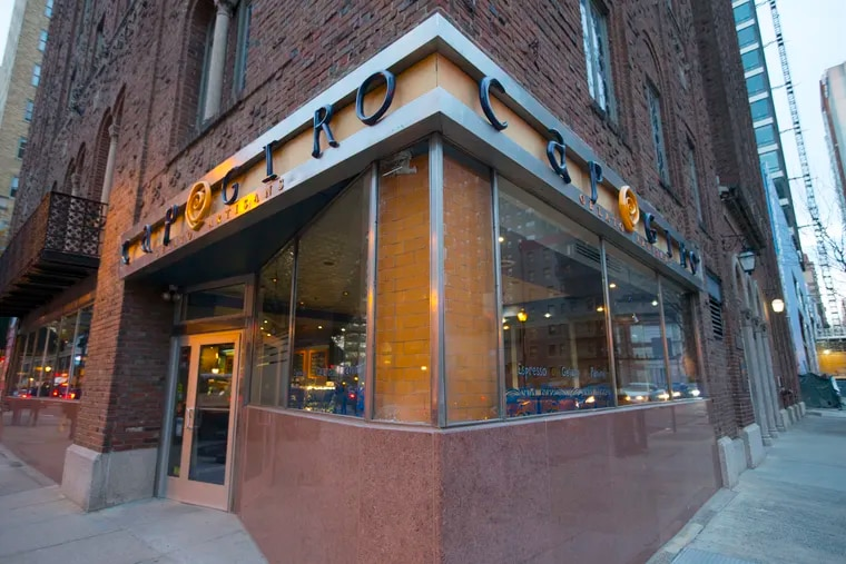 Capogiro announced Dec. 7, 2018, that all its locations will close by Sunday, Dec. 9. This is the location at 20th and Sansom Streets.