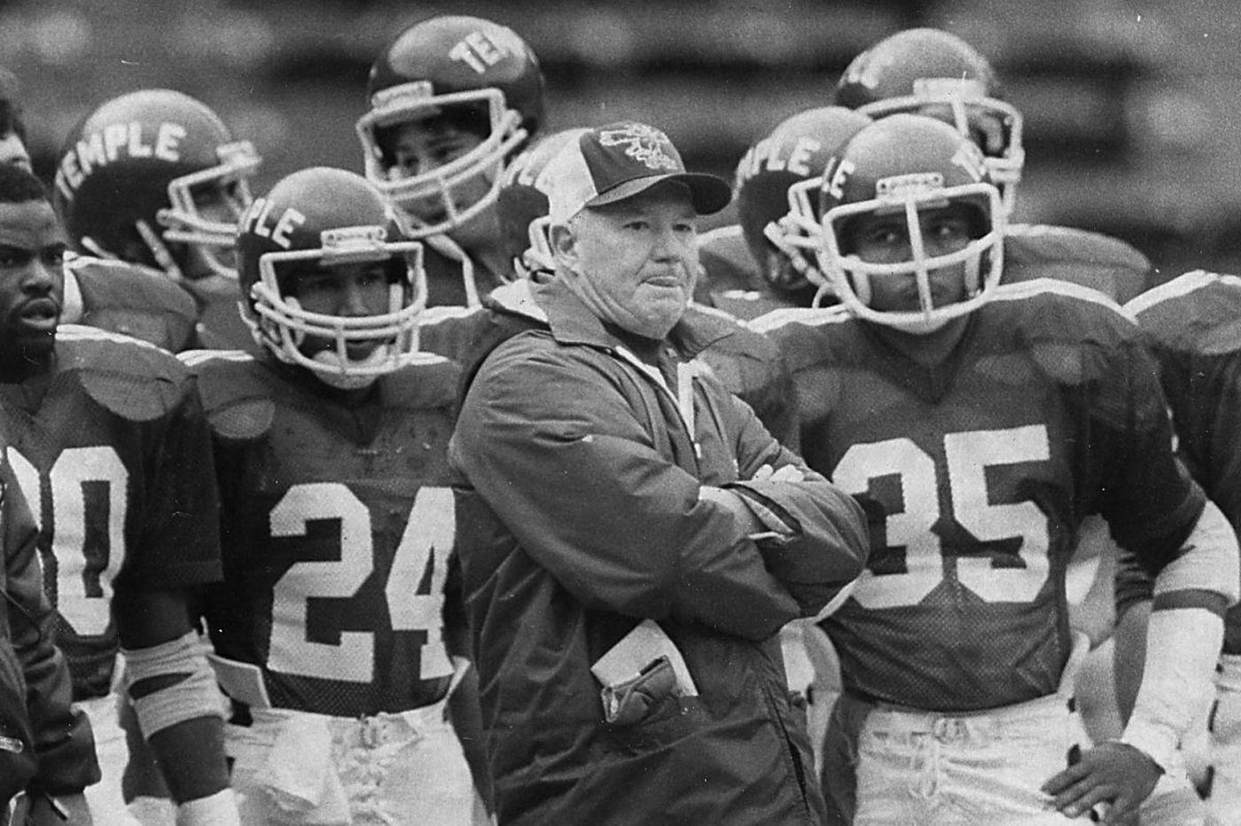 Wayne Hardin, former Temple football coach, dies at 91