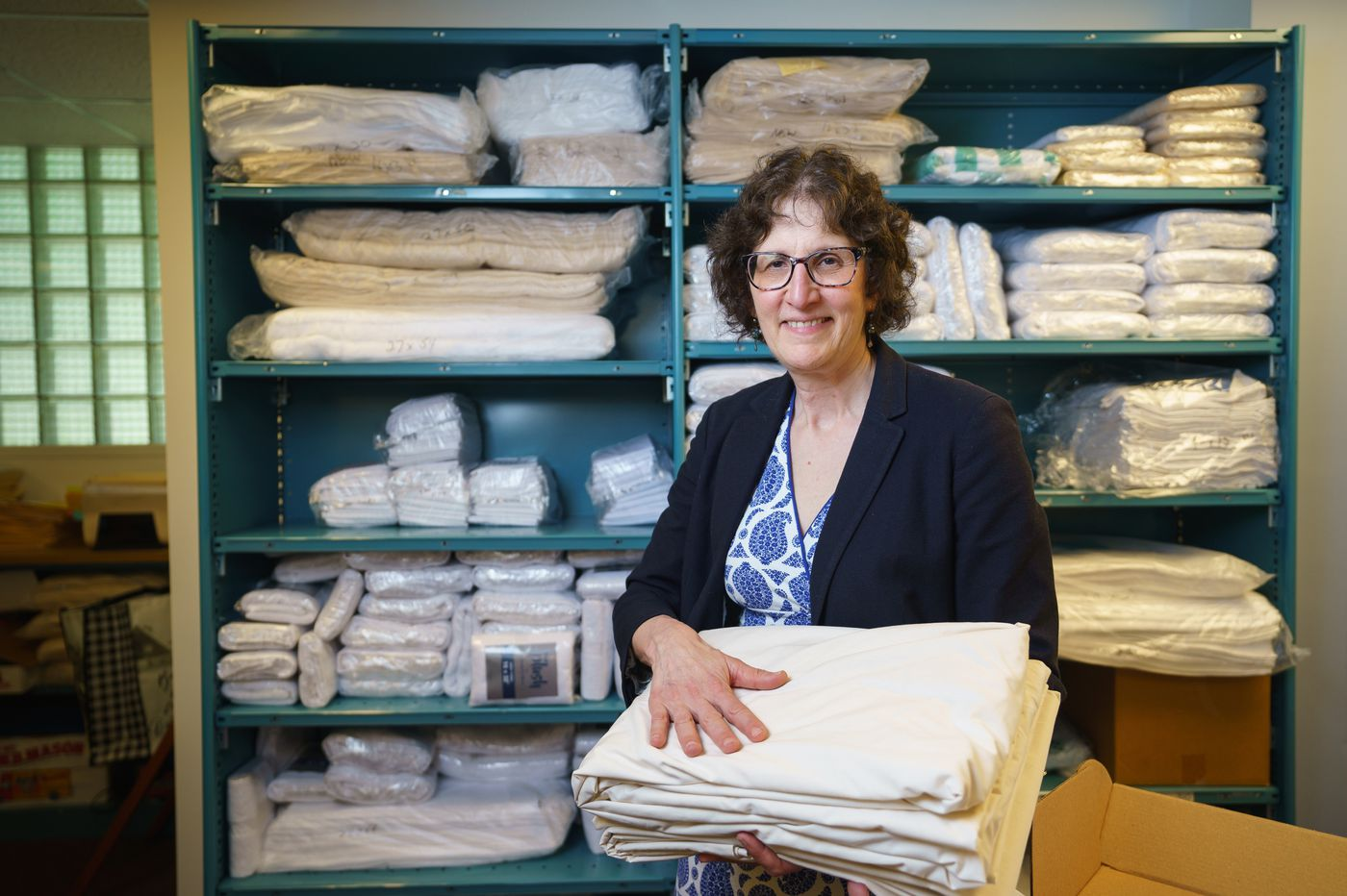 Dreaming big: Why she's leading her family's old wholesale bedding business into 'scary' change online