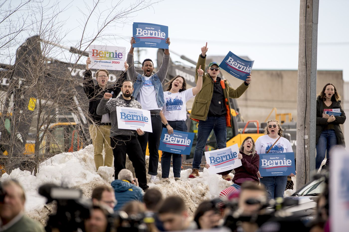 The Iowa caucuses have come down to one message for Democrats: I can beat Trump
