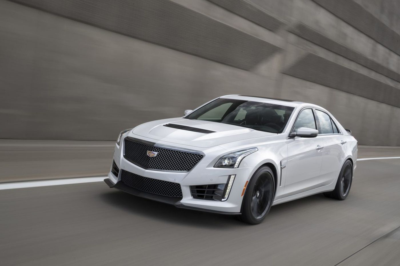 The CTS-V is the most exciting Cadillac ever built