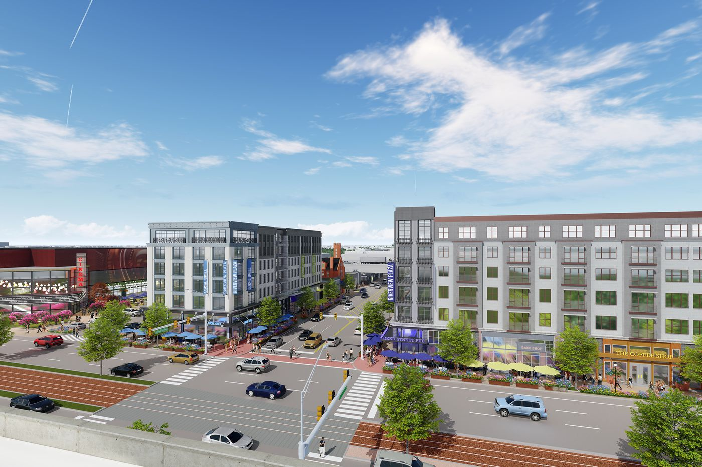 Big changes planned at S. Philly's Riverview Plaza, starting with $12M movie-theater refresh