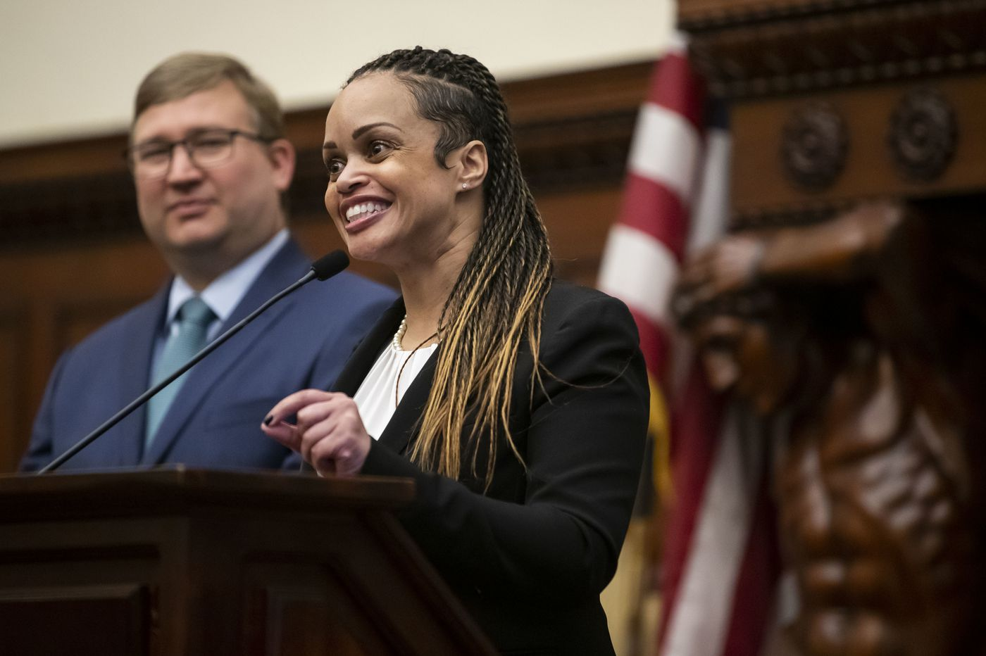 Philadelphia's new police commissioner is Danielle Outlaw of Portland, Ore.
