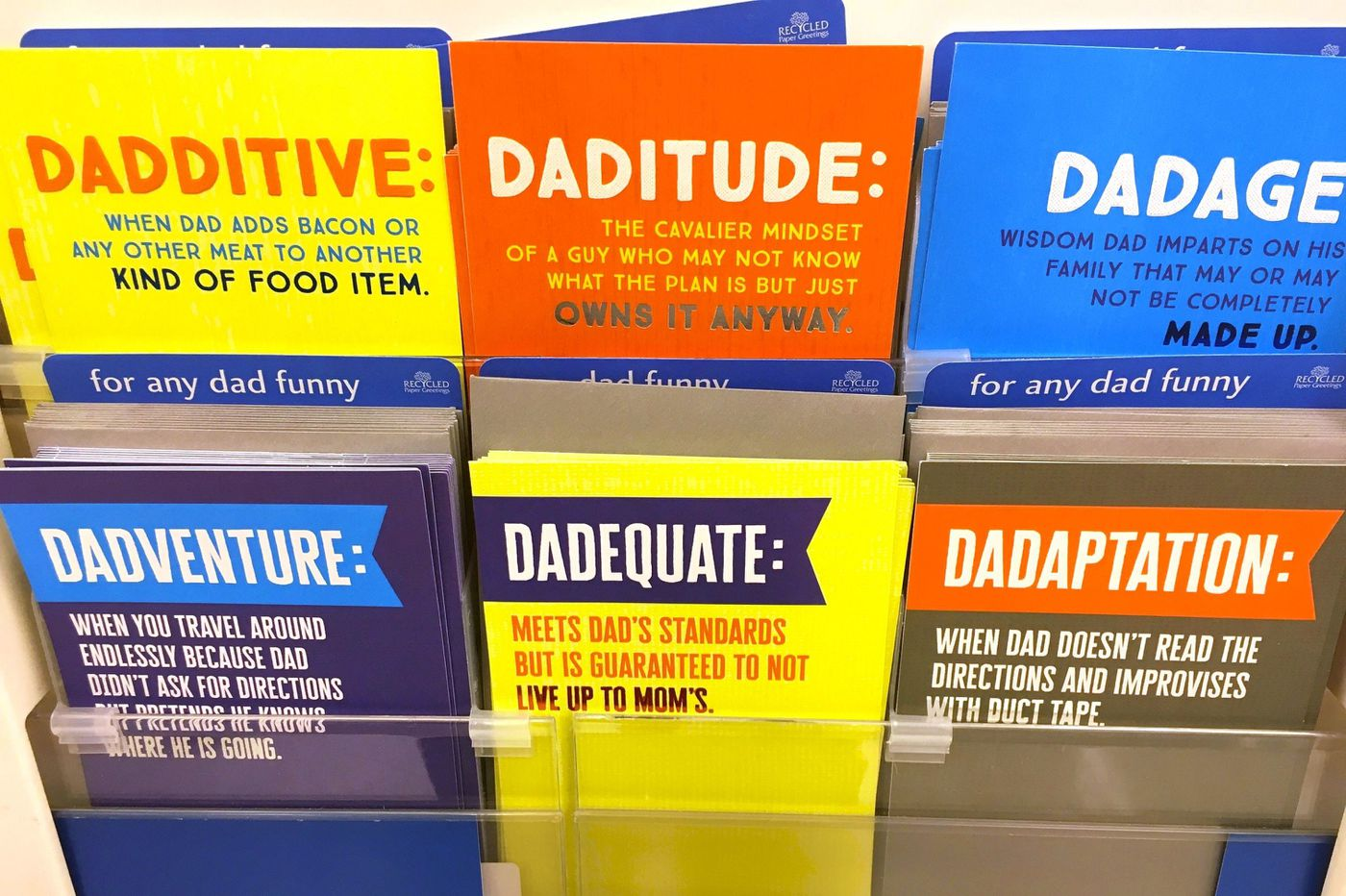 Father's Day cards: Instead of saying 'I love you, Dad,' society tells us to make a fart joke | Opinion