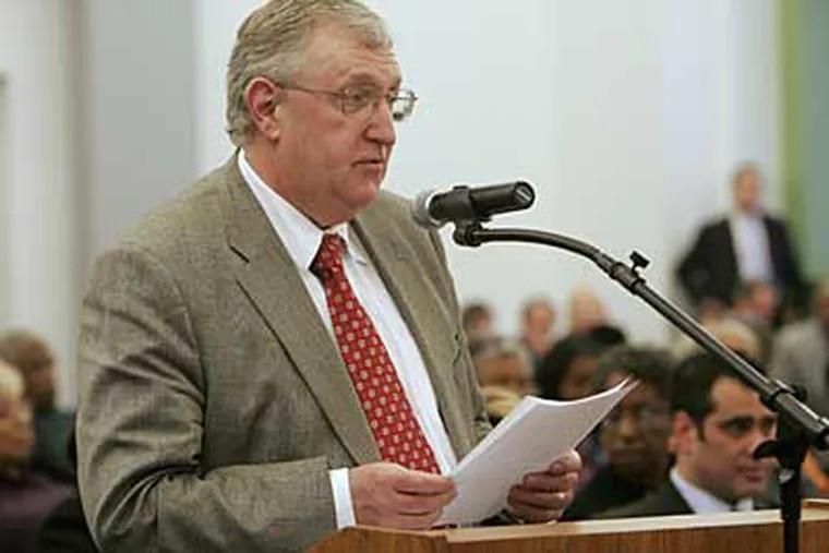 Brien N. Gardiner was under federal investigation.