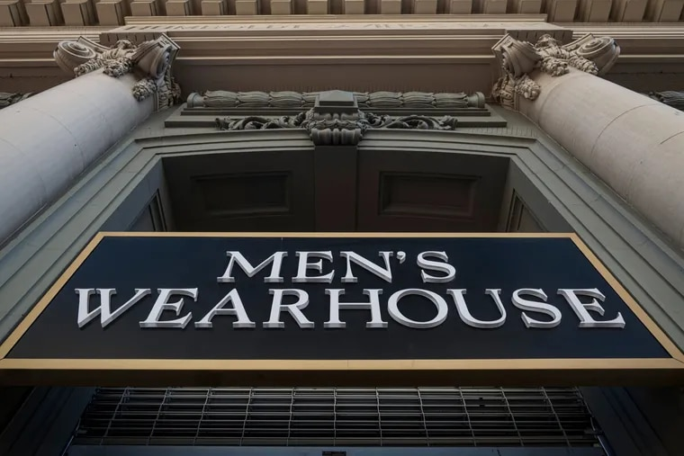 A Men's Wearhouse in San Francisco on Aug. 6, 2020. MUST CREDIT: Bloomberg photo by David Paul Morris