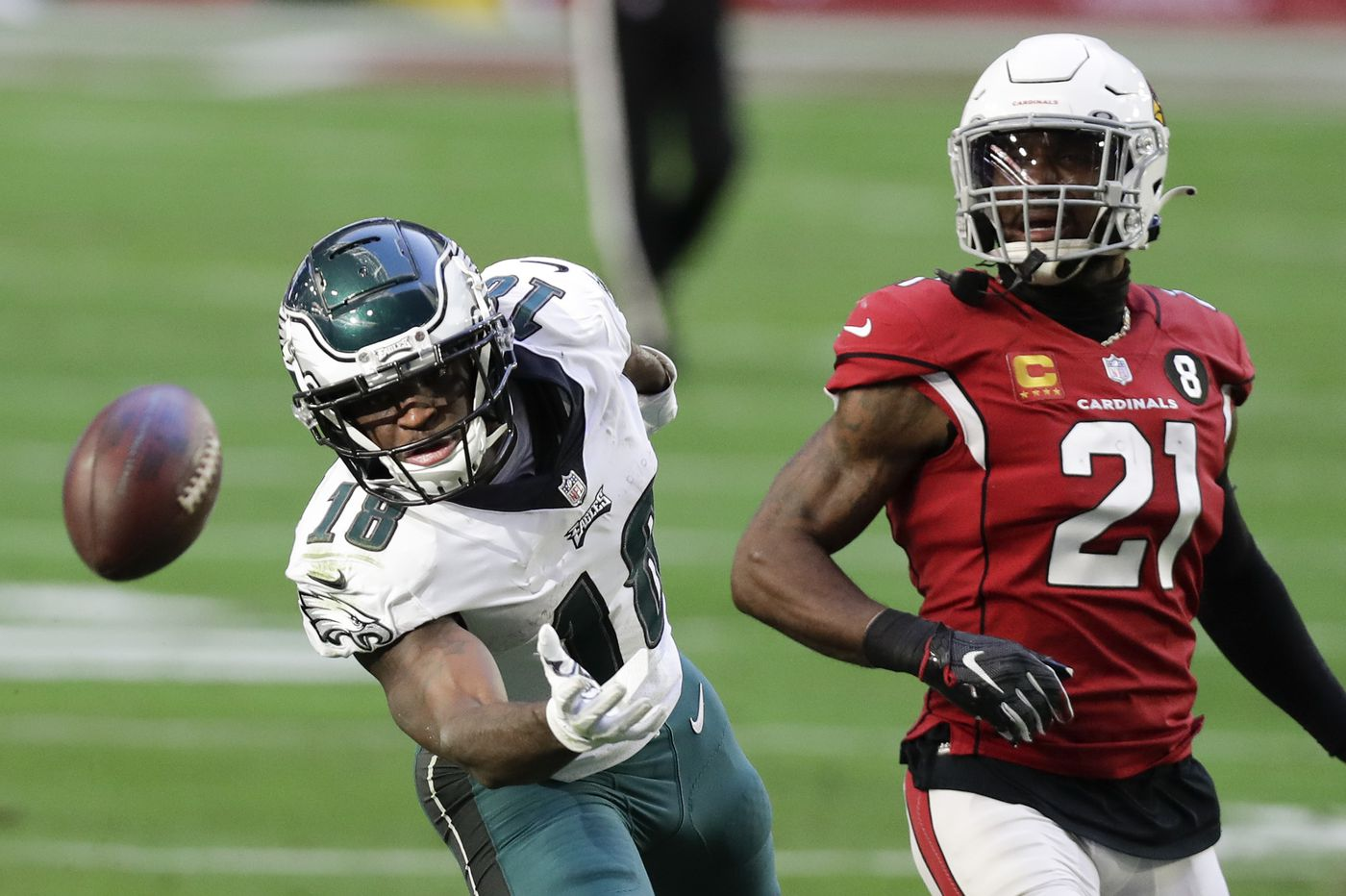 Eagles' Jalen Reagor says numbers don't tell the full story of a disrupted rookie season, but even so, 'it wasn't enough'