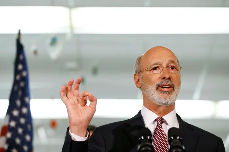 Pennsylvania Gov. Tom Wolf said he would work with the legislative and judicial branches in examining the state's juvenile justice system.