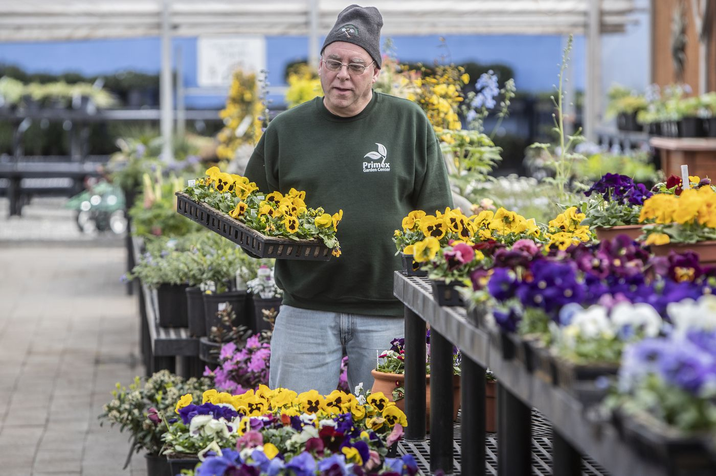 For many Philly-area garden centers, the coronavirus outbreak brings a silent spring