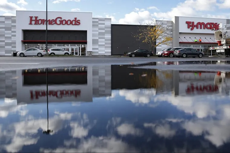 The  42,261-square-foot TJ Maxx /HomeGoods combo store in South Philadelphia. It will open at 8 a.m this Sunday at the Columbus Crossing shopping center at 1851 S. Columbus Blvd.