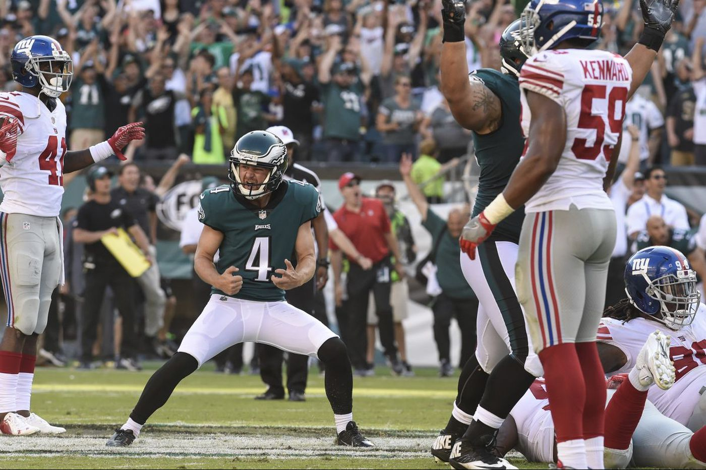 Eagles' Jake Elliott, back from concussion, knows how easy it is to be kicked aside