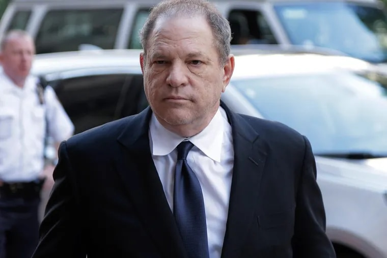 Harvey Weinstein arrives to court in New York in July. Comcast-owned NBC News is facing criticism over its handling over the story on allegations that Weinstein sexually assaulted Hollywood actresses.