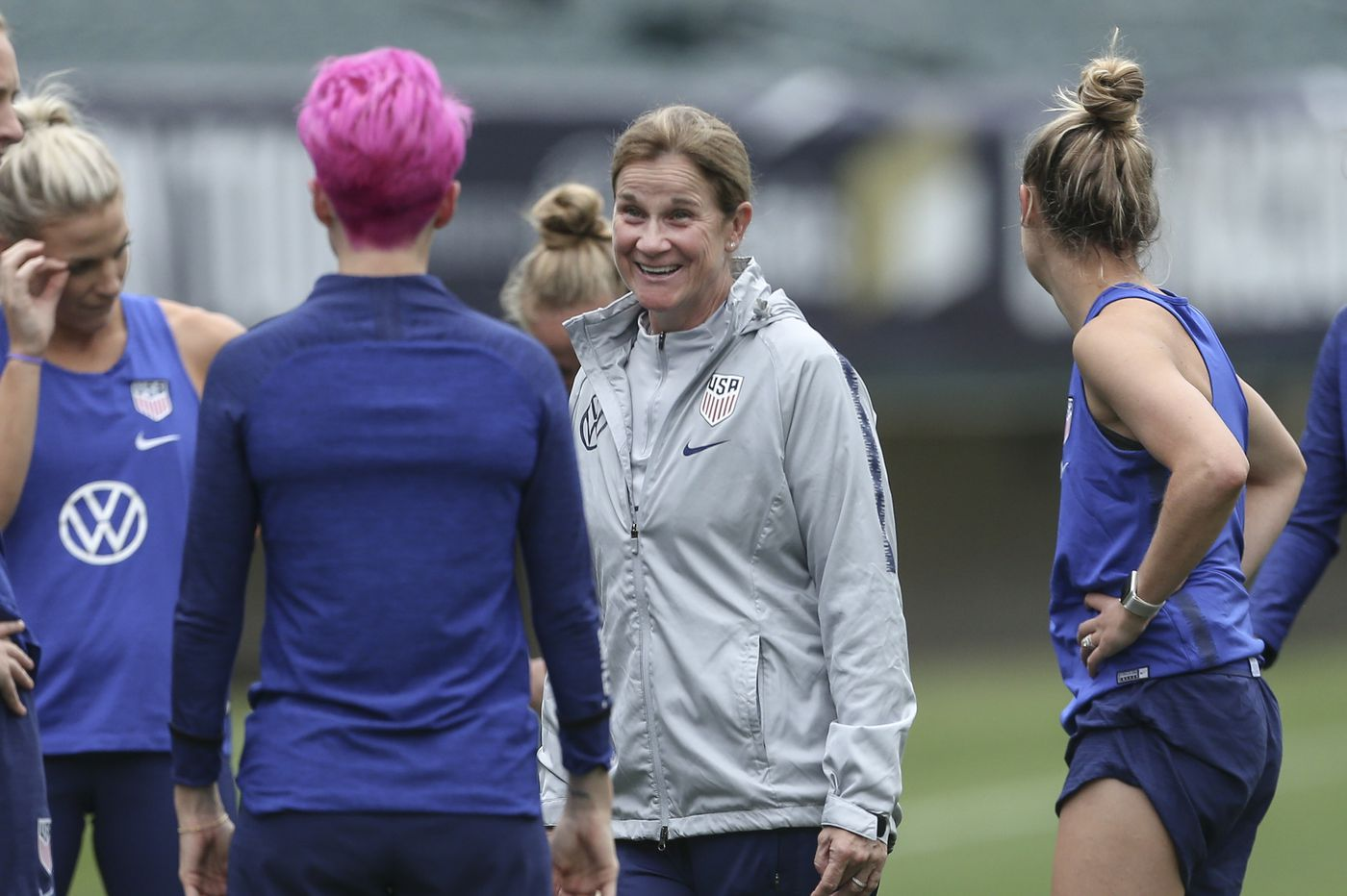 Former USWNT coach Jill Ellis is free of pressure, and free to be herself