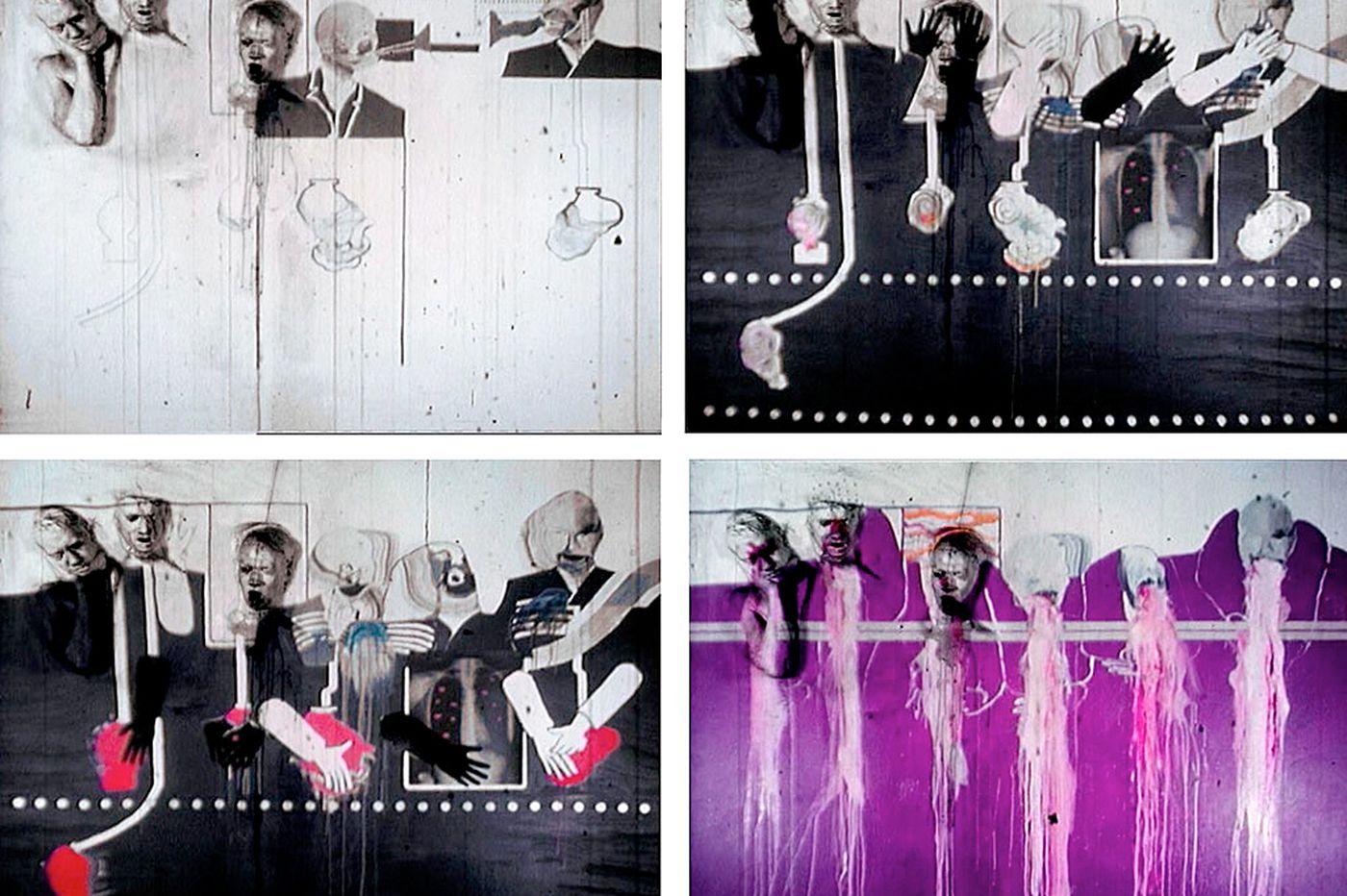 Art: Storyteller David Lynch's dark artistic visions