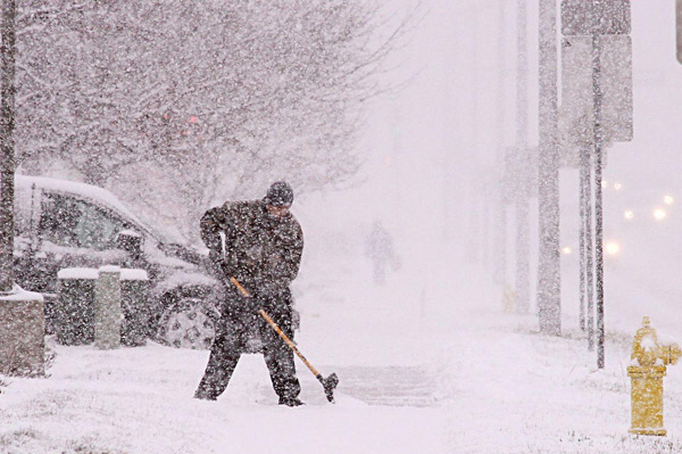Snowstorm across the Plains closes part of I-70