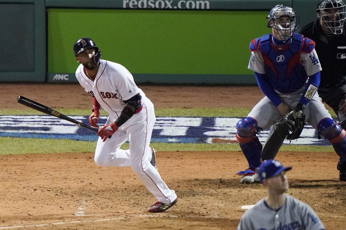 Red Sox beat Dodgers, 8-4, at Fenway in World Series opener