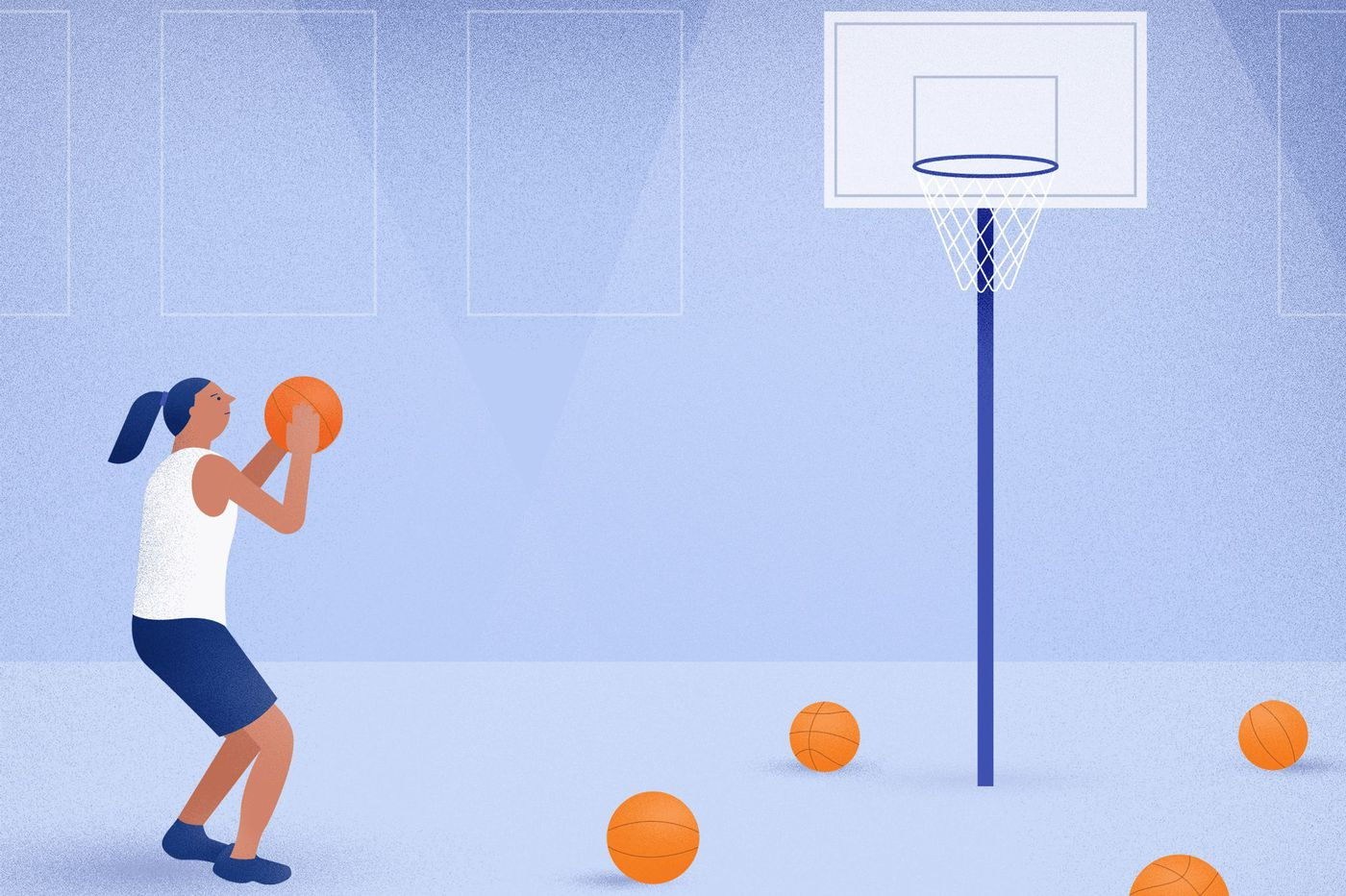 Practice is more important than talent when developing skills