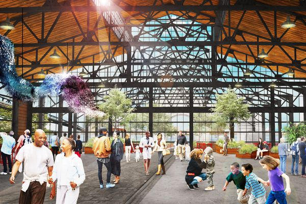 Opening date announced for Cherry Street Pier, bringing a massive gathering space to the Delaware River waterfront