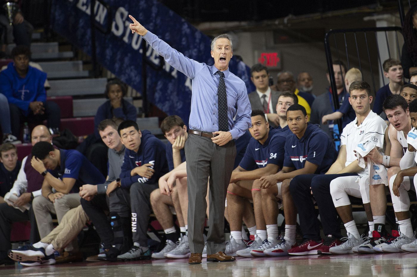 Penn's depth thrills Steve Donahue as Quakers aim for Ivy League rivals | College basketball preview