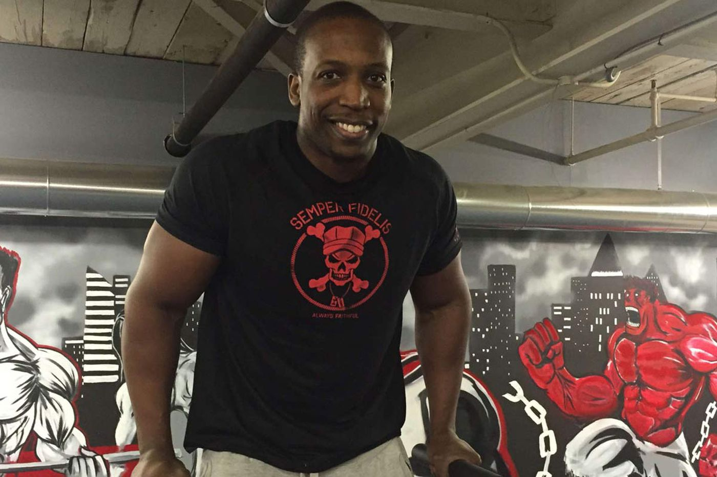 Personal fitness trainer has a new gym in East Falls