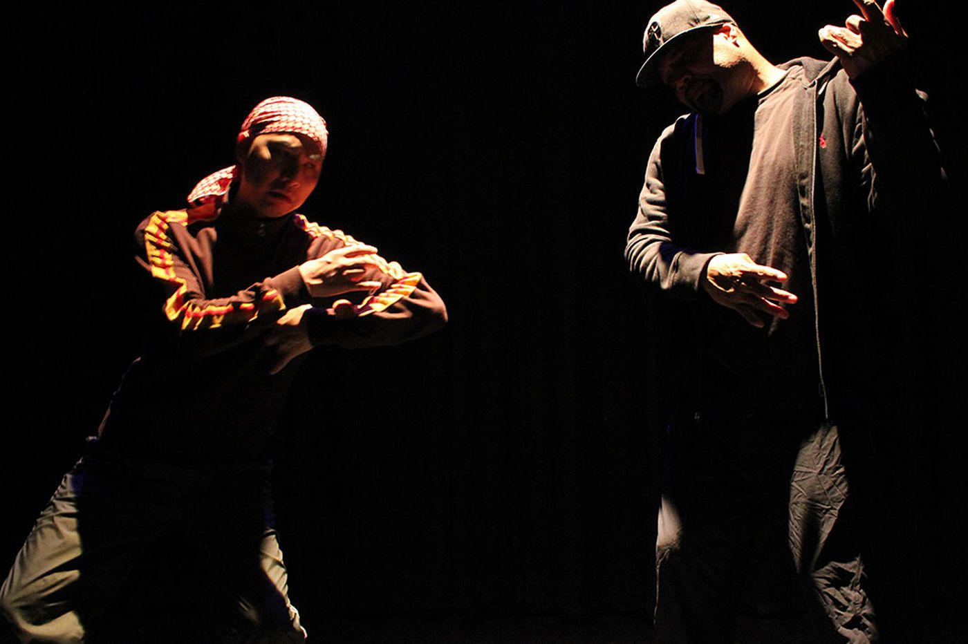 Hip hop and butoh align, evolve