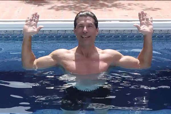 Pool exercises help joint recovery, overall fitness