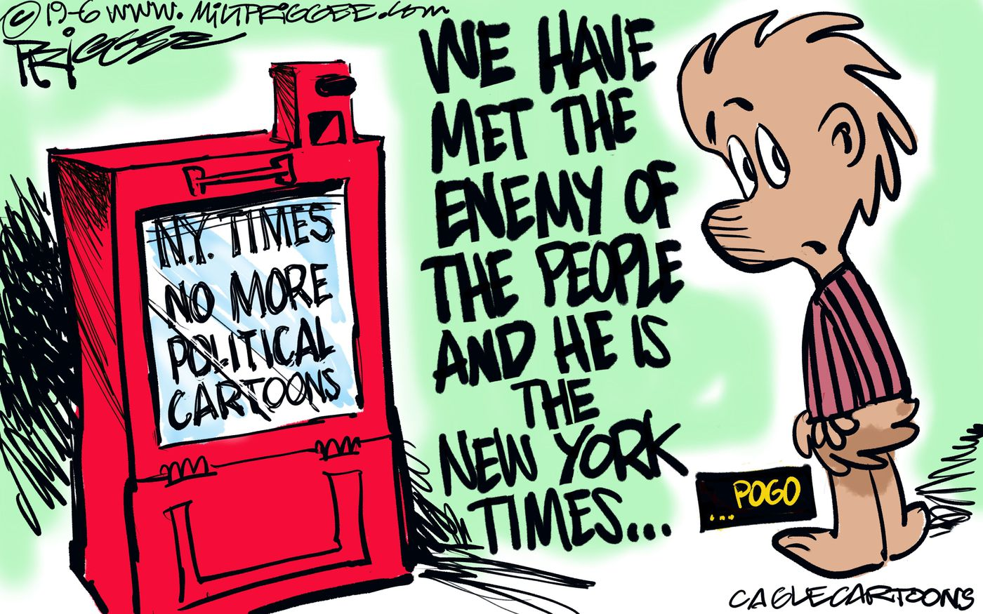 The New York Times Daily Cartoons Ban Reactions From Cartoonists