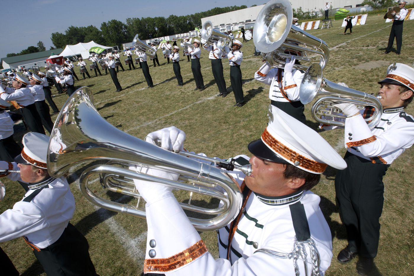Broke-down buses, Ibuprofen, and a sex offender: On the road with Pioneer Drum Corps
