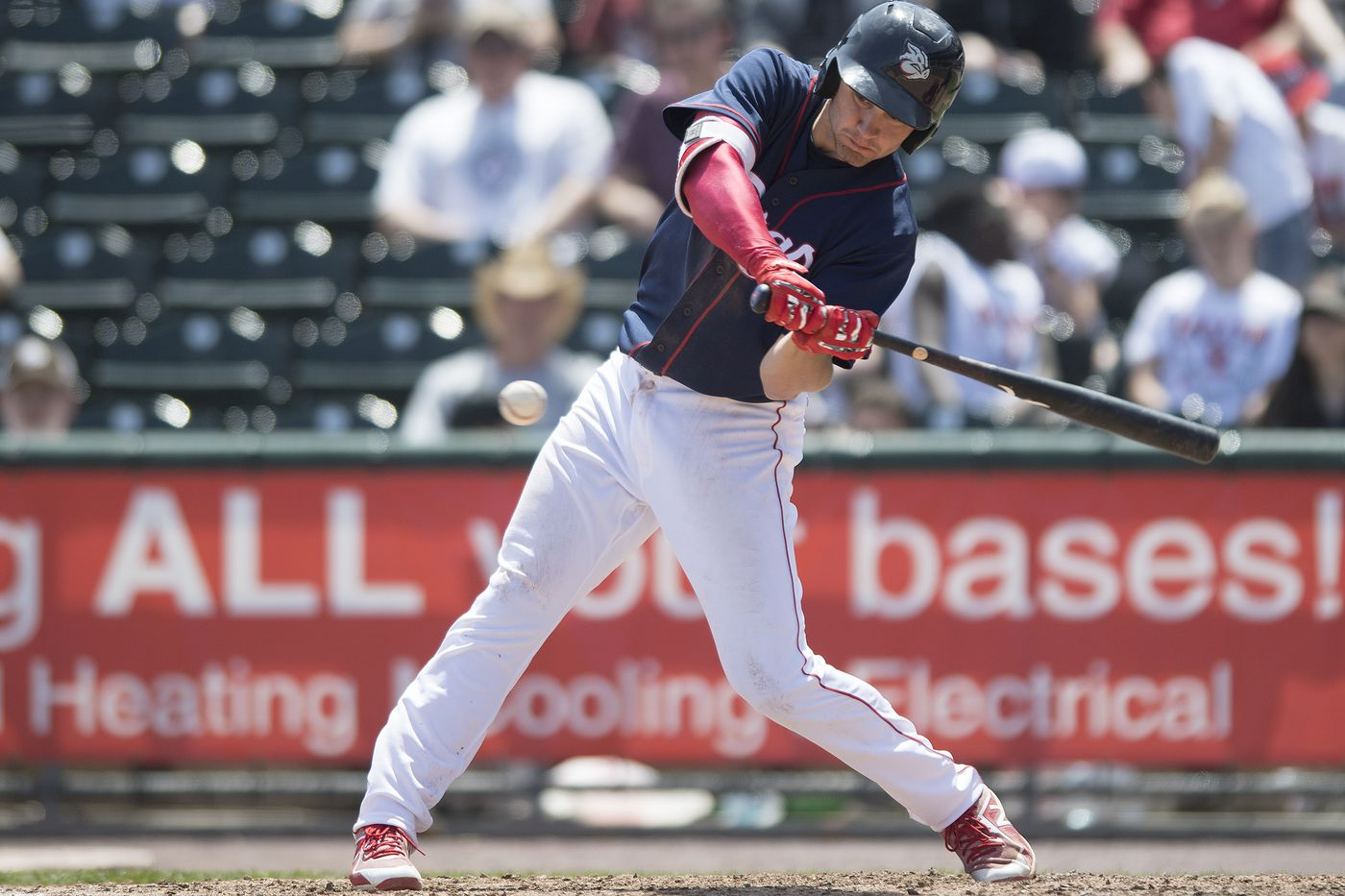 Phillies minor league report: IronPigs cruise past Pawtucket behind Mitch Walding, Collin Cowgill