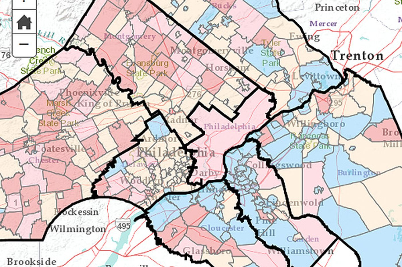 Gains and losses in Phila. region's population